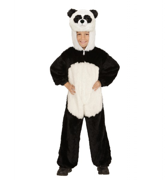 Panda Plüschoverall Größe 113