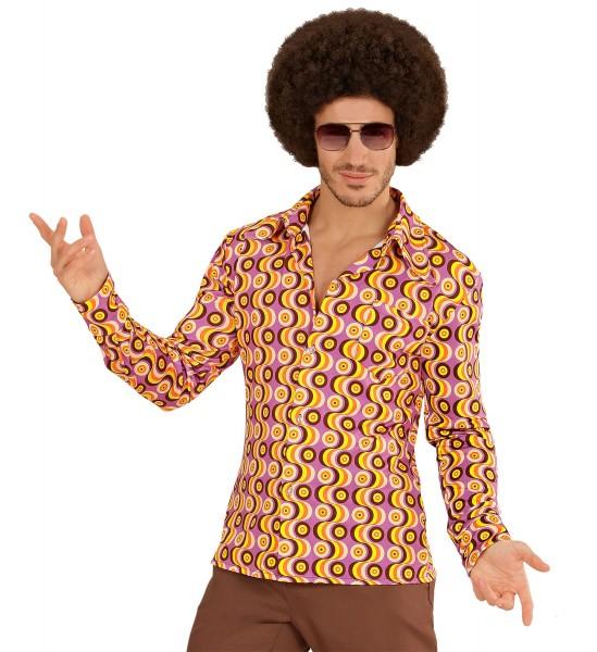 70er Jahre Hemd Groovy S/M