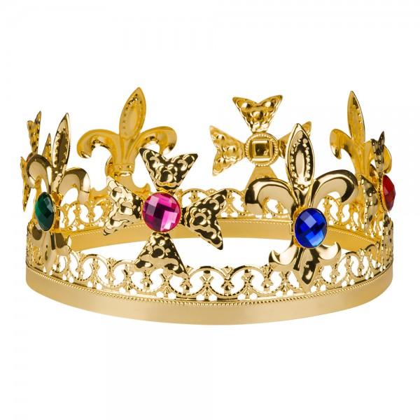 König Krone aus Metall