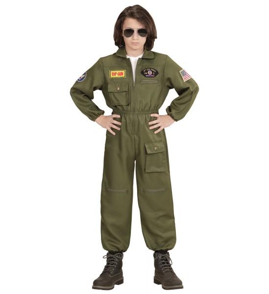 Kampfjet Piloten Overall Größe 140