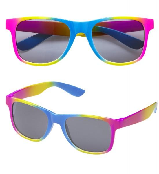 Regenbogen Brille