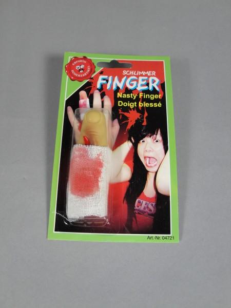 Finger mit Verband