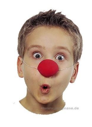 Kinder Clown Nase aus Latex