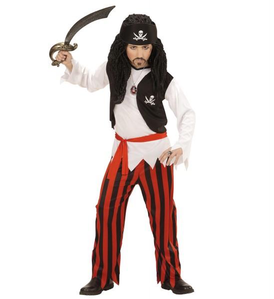 Piraten Kostüm für Kinder Größe 140