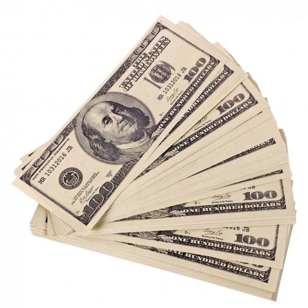 Dollar Scheine Spielgeld
