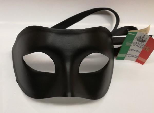 Venezianische Herren Maske schwarz