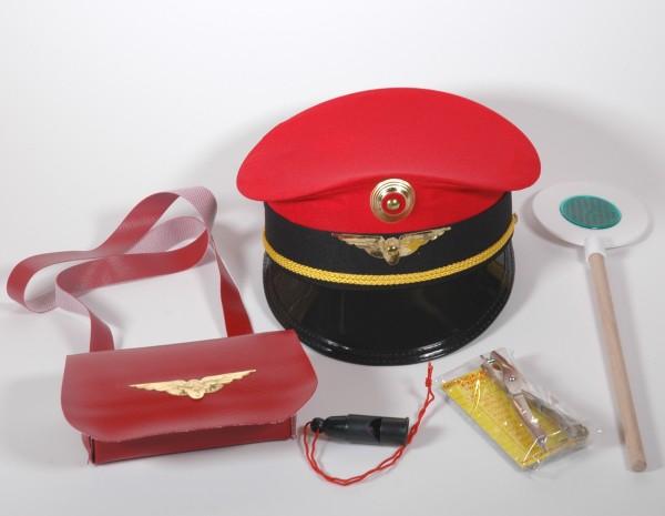 Vorstand Set 6teilig mit rote Mütze für Kinder