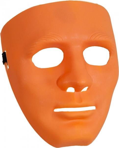 Maske orange ganzes Gesicht