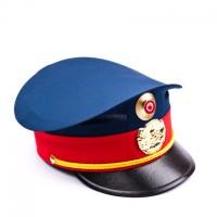 Polizeimütze blau/rot für Kinder