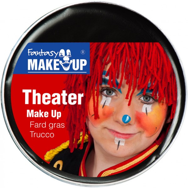 Theater Make Up 25gr SCHWARZ