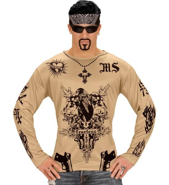 Tattoo Shirt M/L