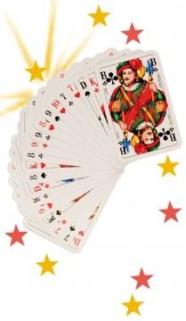 Zaubertrick Trickkarten