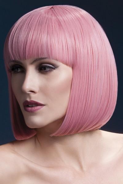 Elise Perücke pastel pink Premium Qualität