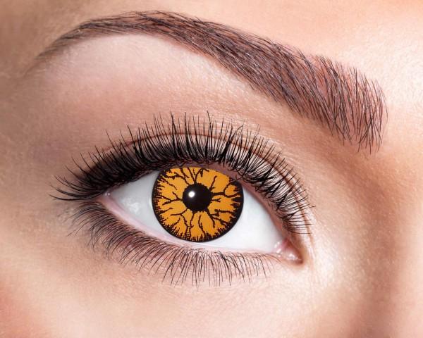 Kontaktlinsen monster orange 3 Monate