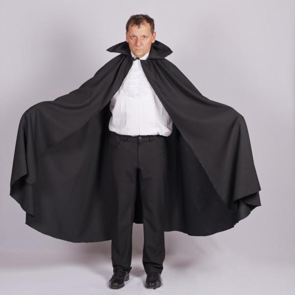Dracula Umhang LARGE für Erwachsene