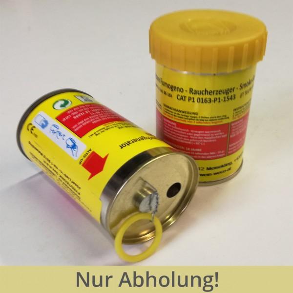 Bodenrauchkörper gelb 2 Minuten