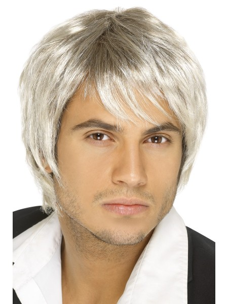 BOY BAND Perücke blond/braun