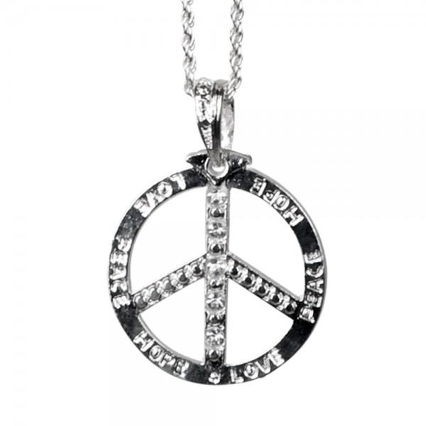 "Halskette ""Peace"""