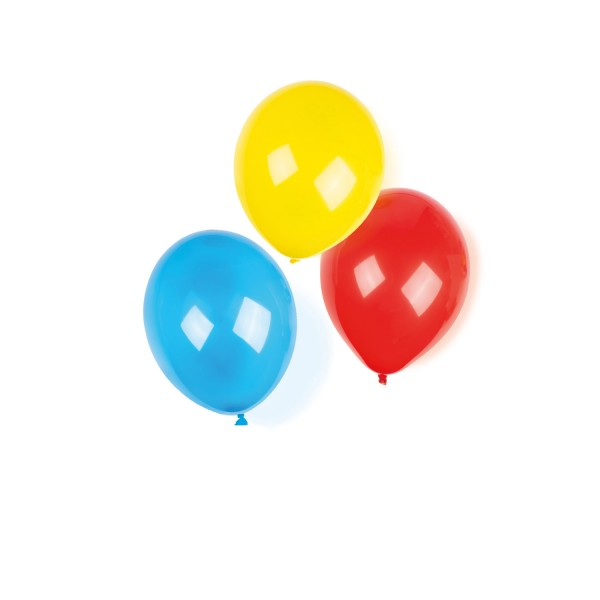 8 Stück Crystal Luftballons sortierte Farben ca. 22,8cm