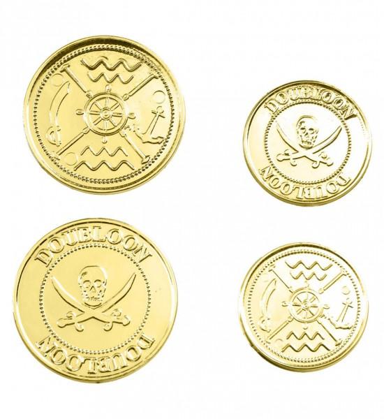 Packung mit 12 Goldmünzen