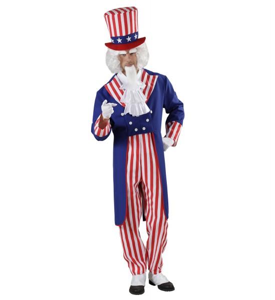 Amerikanisches Onkel Sam Kostüm MEDIUM