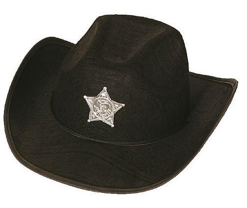 Cowboy Hut für Kinder mit Sheriffstern