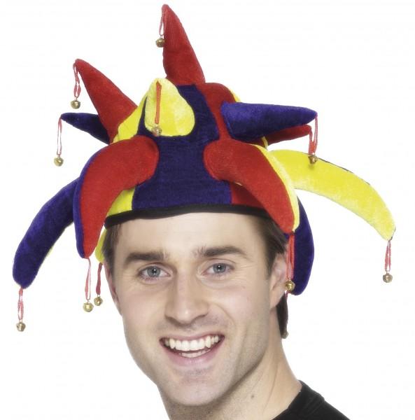 Jester/Clown Mütze mit Schellen