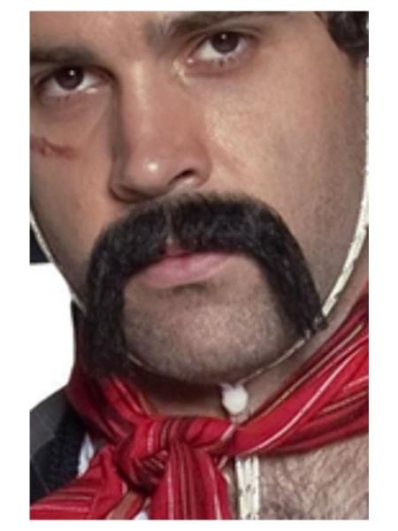 Mexikaner Bart schwarz