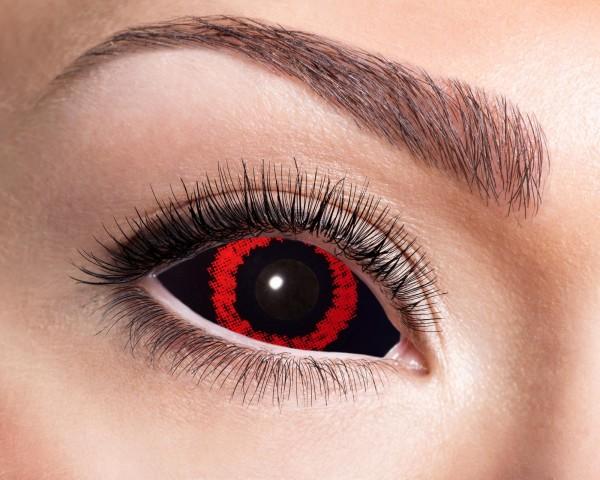 Kontaktlinsen Sclera red dämon