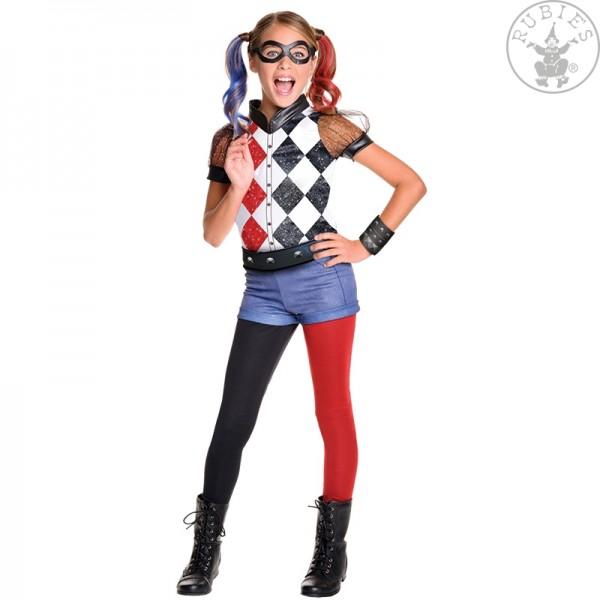 Harley Quinn Kostüm LARGE für Kinder