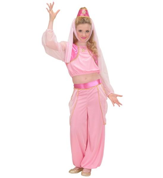 Haremsdame Kostüm rosa Größe 128