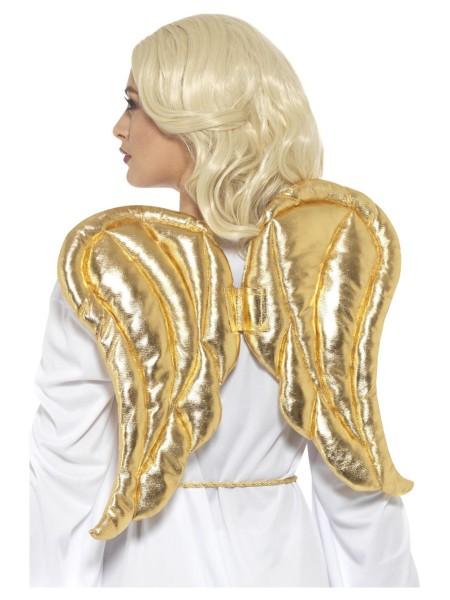 Engelflügel gold Stoff ca. 42x54cm