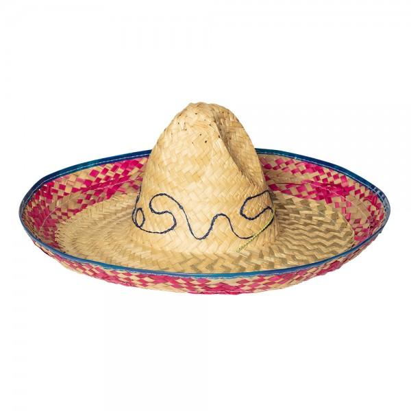 Sombrero Mexikaner Hut aus Stroh