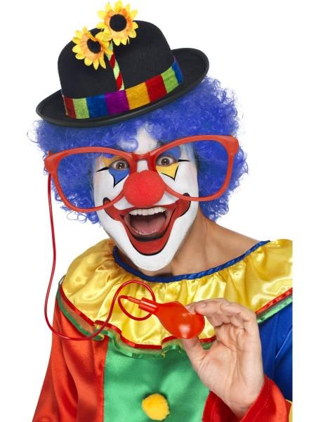 Riesen Clown Brille