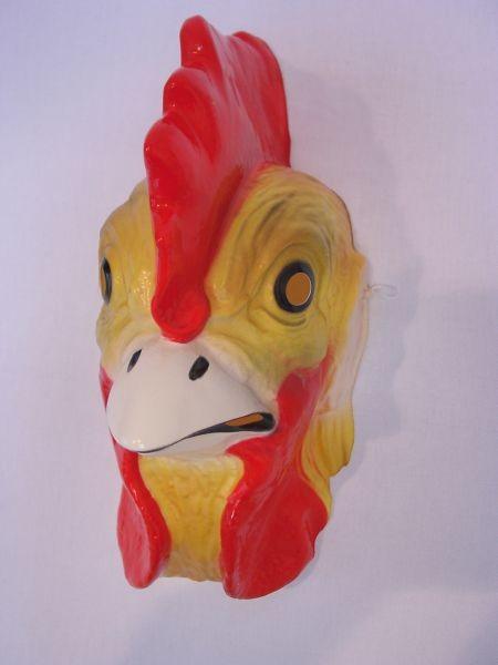 HAHN Maske Plastik für Erwachsene