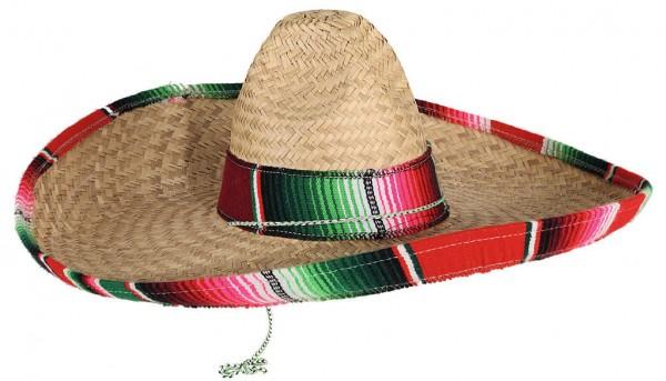 Mexikaner Sombrero Stroh