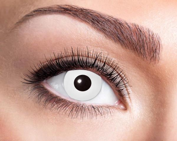 Kontaktlinsen weiss 3 Monate