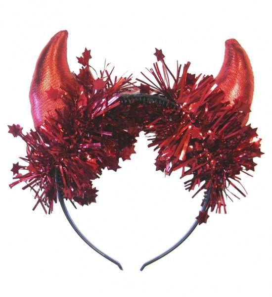 Teufelshörner metallic