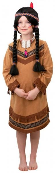 Indianerin Kleid Größe 140