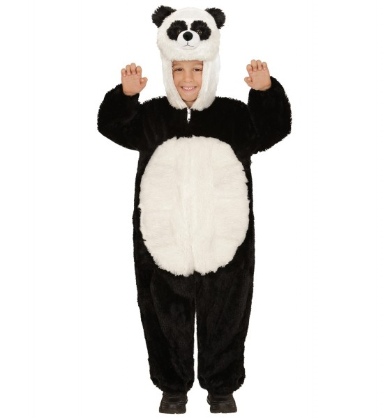 Panda Bär Overall aus Plüsch Größe 98