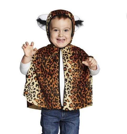 Leoparden Cape/Umhang Größe 104
