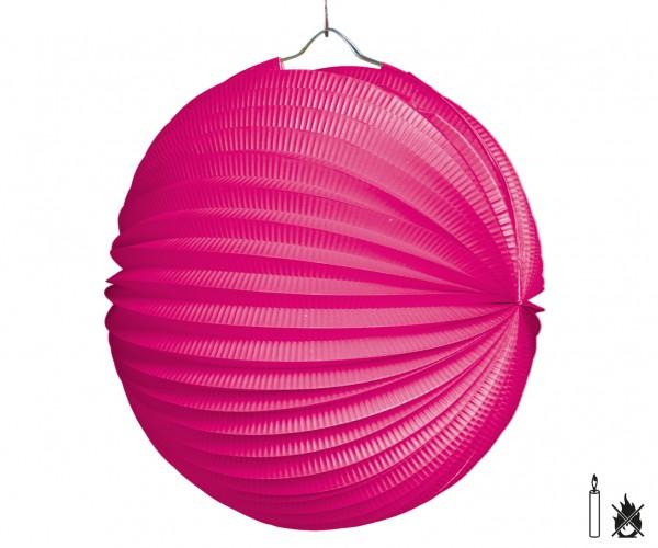 Lampion PINK rund D:25cm