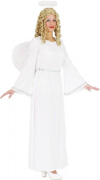 Engels Kostüm weiss-silber Kleid Größe 40/42