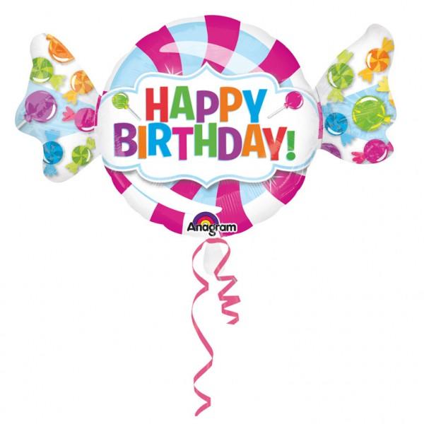 XL- Happy Birthday Ballon