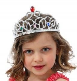 Königin Diadem silber (50214)