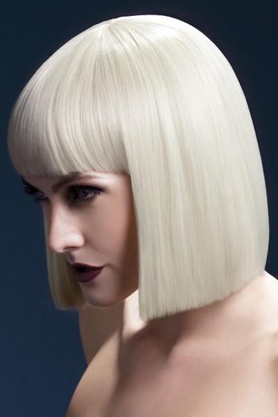 Pagen Kopf Perücke blond LOLA Premium Qualität