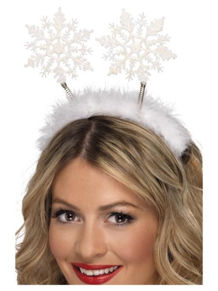 Schneeflocken Haarreifen