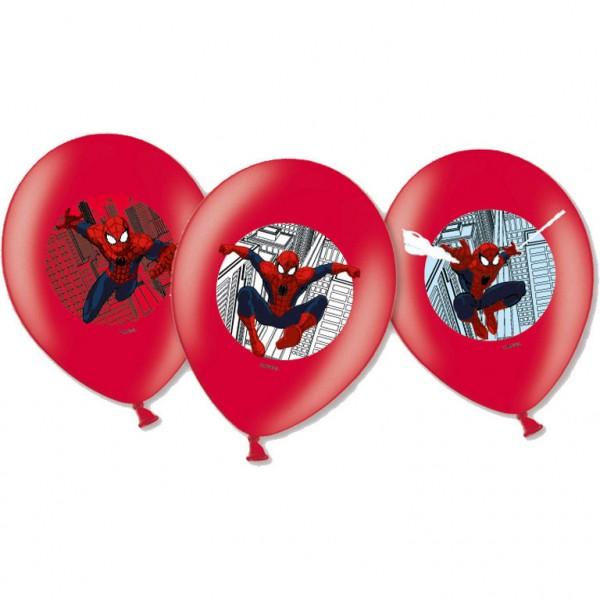 """6 Stück Luftballons """"Spiderman"""""""