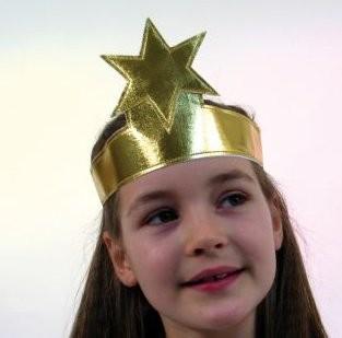 Engel Stirnband mit Goldstern