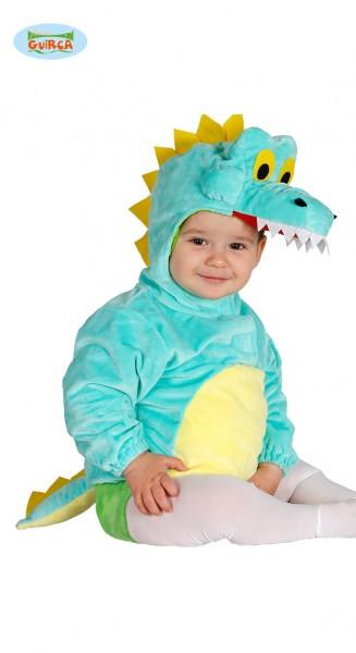 Babykostüm Krokodil für 6-12 Monate